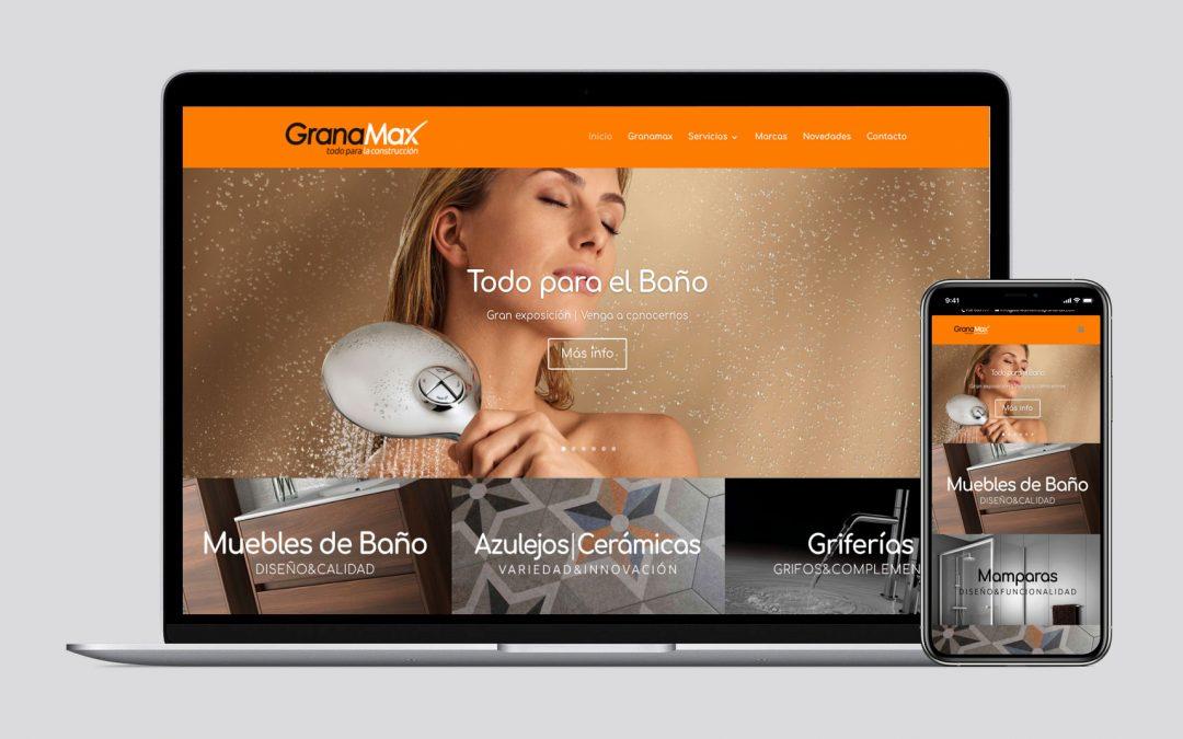 Diseño Web para Granamax