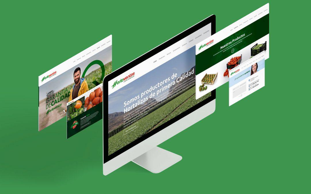 Diseño web para Hortoventas