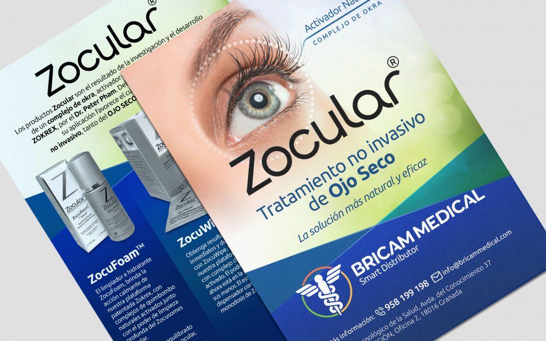 Diseño e impresión de Flyer promocional para Bricam Medical