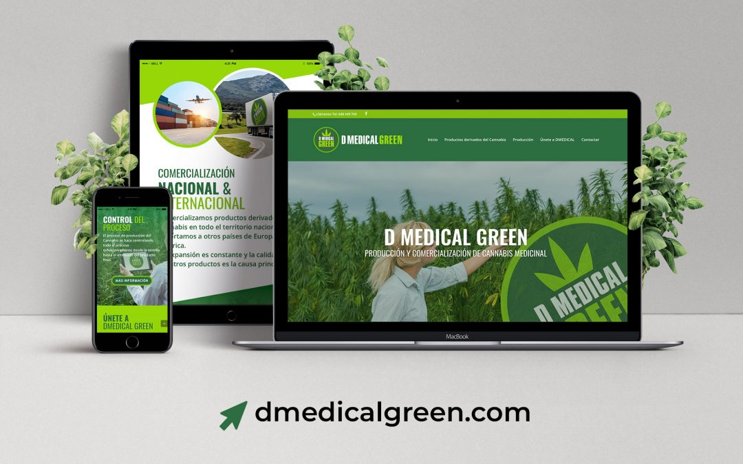 Diseño web para D Medical Green
