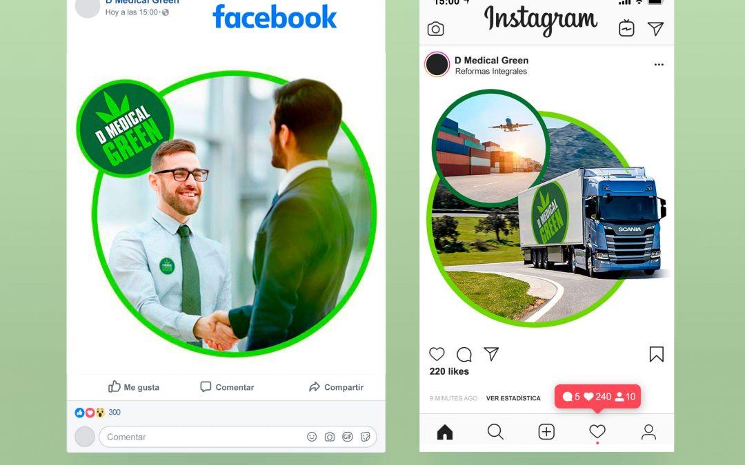 Gestión de Redes Sociales para DMedical Green