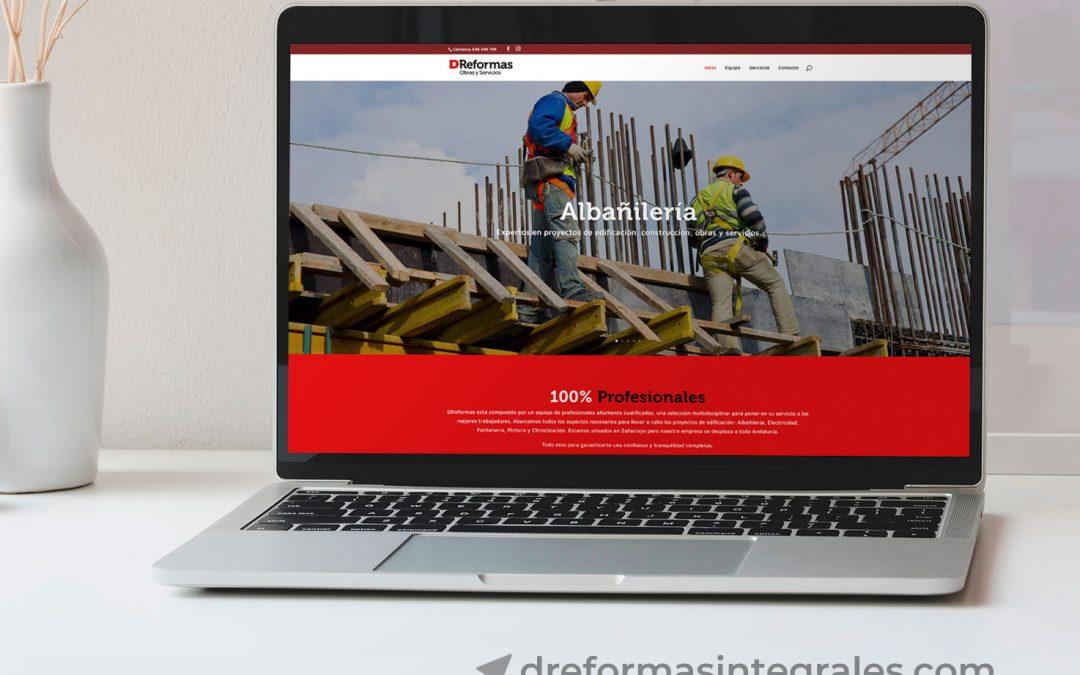 Diseño Web para DReformas