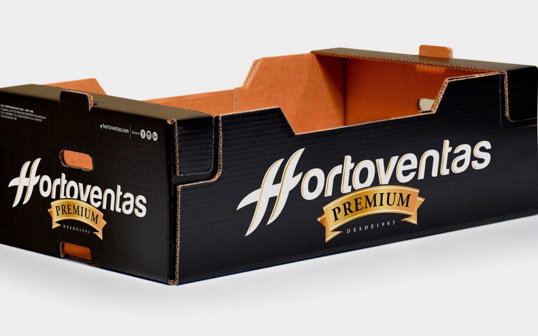 Diseño de envase PREMIUM para Hortoventas