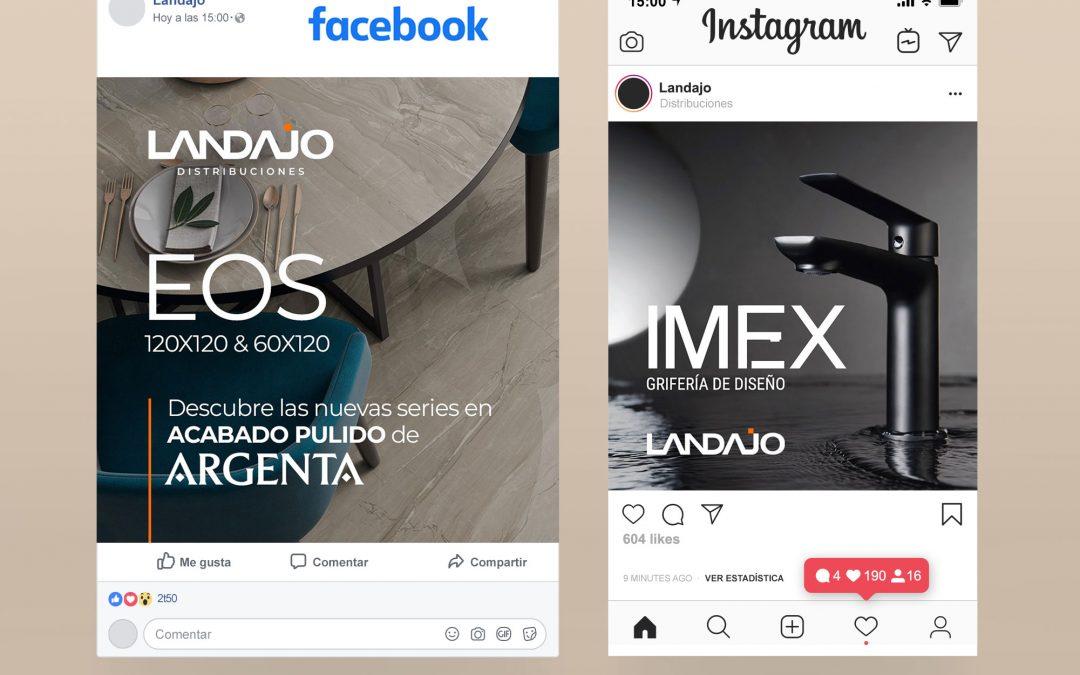 Gestión de Redes Sociales para Landajo Distribuciones