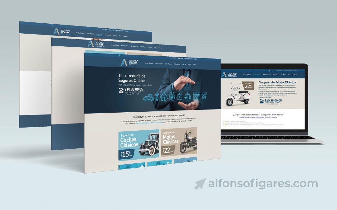 Diseño web para Alfondo Fígares