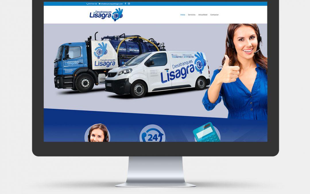 Diseño Web para Desatranques Lisagra