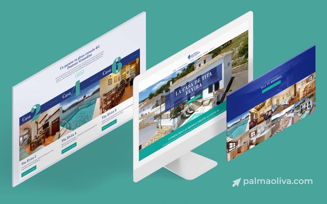 Diseño Web para Casas de Tita Elvira