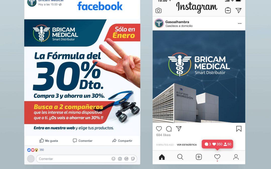 Gestión de Redes Sociales para Bricam Medical