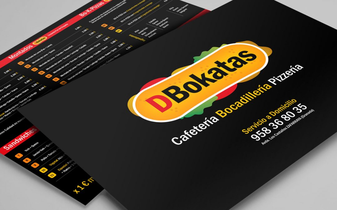 Diseño e Impresión de Carta / FLyer para DBokatas