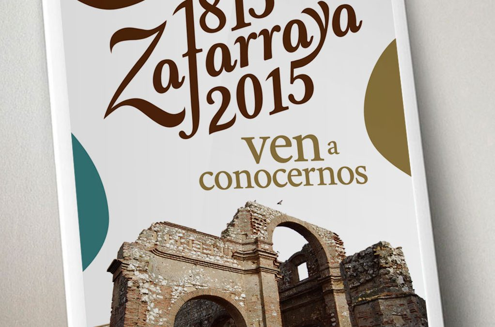 Cartel Commemorativo Bicentenario de Zafarraya