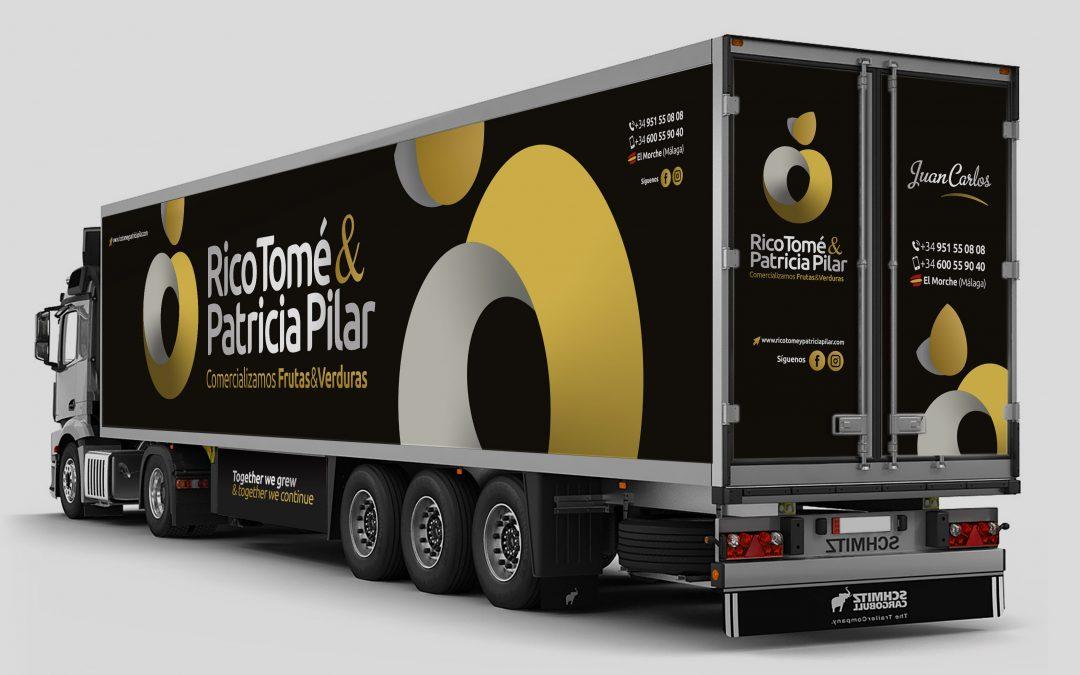 Diseño & Rotulación de Vehículo PREMIUM para Rico Tomé & Patricia Pilar