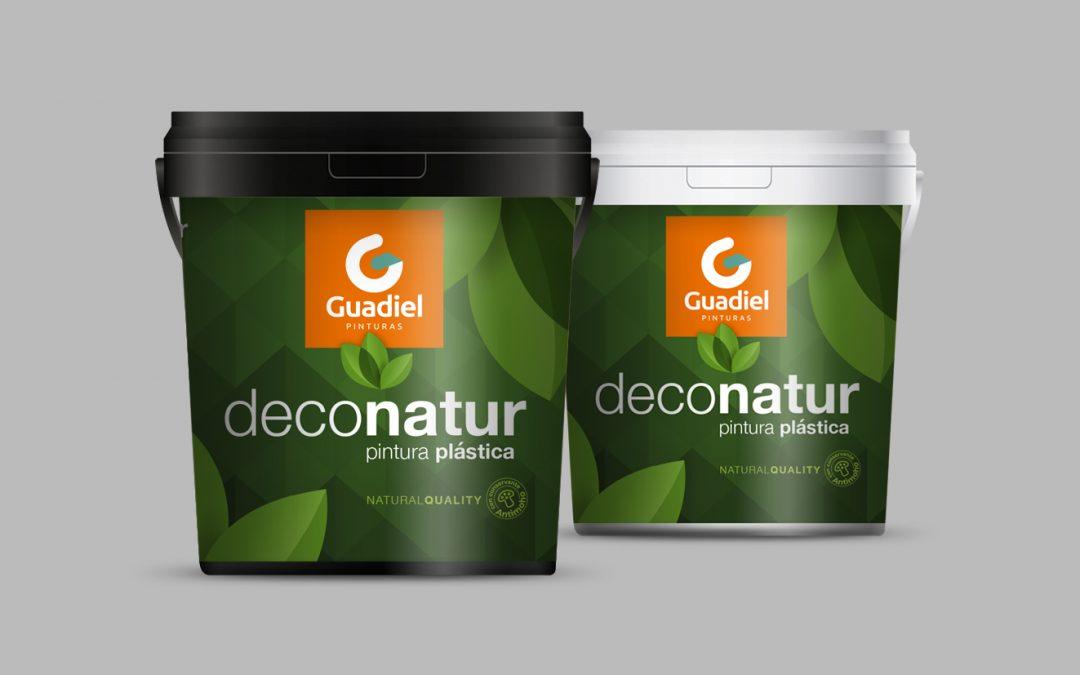 Diseño de Envase para Pintura Ecológica DECONATUR