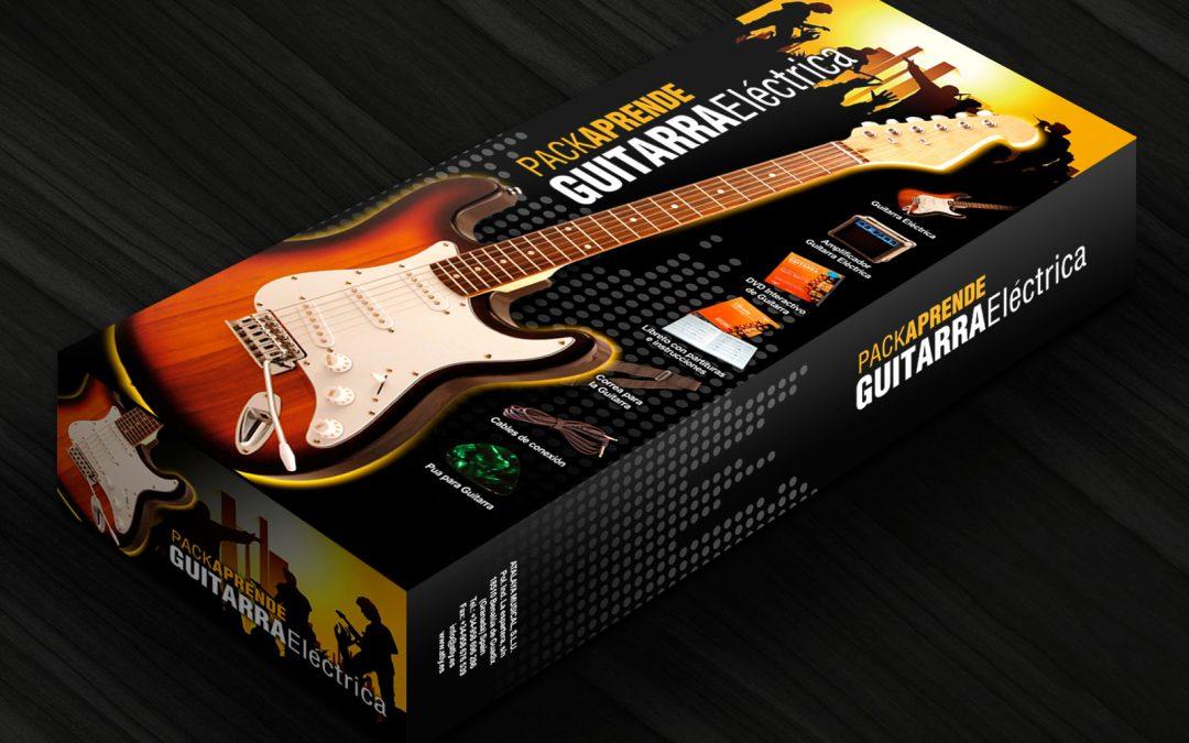 Packaging Pack Guitarra Eléctrica Atalaya Musical