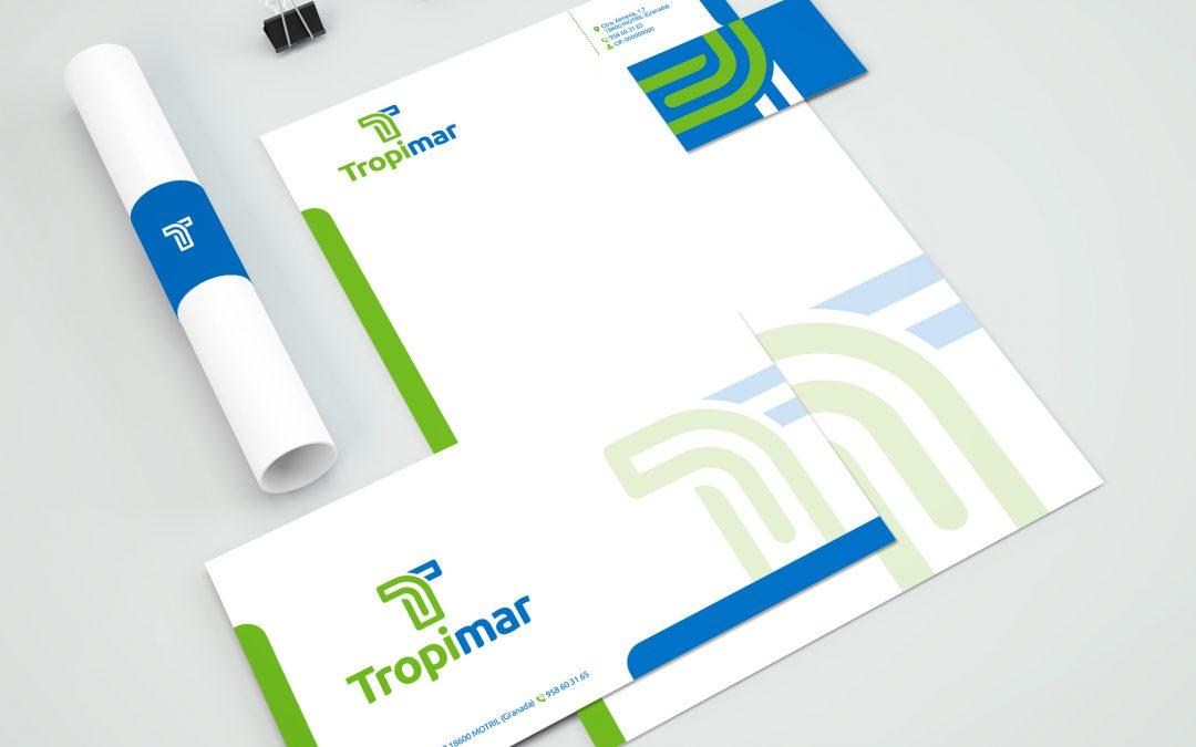 Diseño de Imagen Corporativa & Papelería TROPYMAR